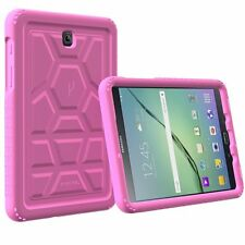Poetic Turtle Skin Air Bumper Silicone Case for Samsung Galaxy Tab S2 8.0 Pink