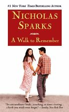 A Walk to Remember by Nicholas Sparks (2000, Paperback, Movie Tie-In)