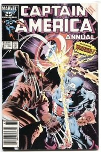 CAPTAIN-AMERICA-1968-ANNUAL-8-9-0-VF-NM-VS-WOLVERINE-COVER-MIKE-ZECK