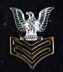 1st-CLASS-PETTY-OFFICER-GOOD-CONDUCT-HAT-LAPEL-PIN-E-6-CROW-US-NAVY-USS-SAILOR