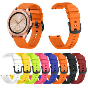For Samsung Galaxy Watch 42mm Replacement Silicone Sports Band Strap Gym Fitness