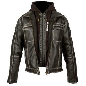 Spada Leather Motorcycle Jacket Peacedog Waterproof Motorbike Cruiser Jackets
