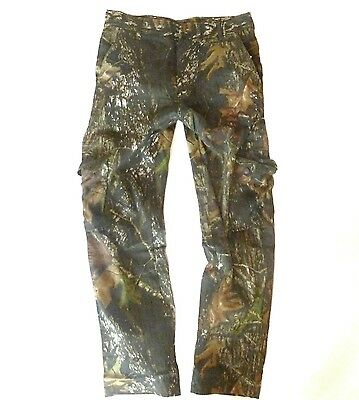 TREE CAMO COMBAT TROUSERS rip stop cotton Mens stealth fishing hunters pants