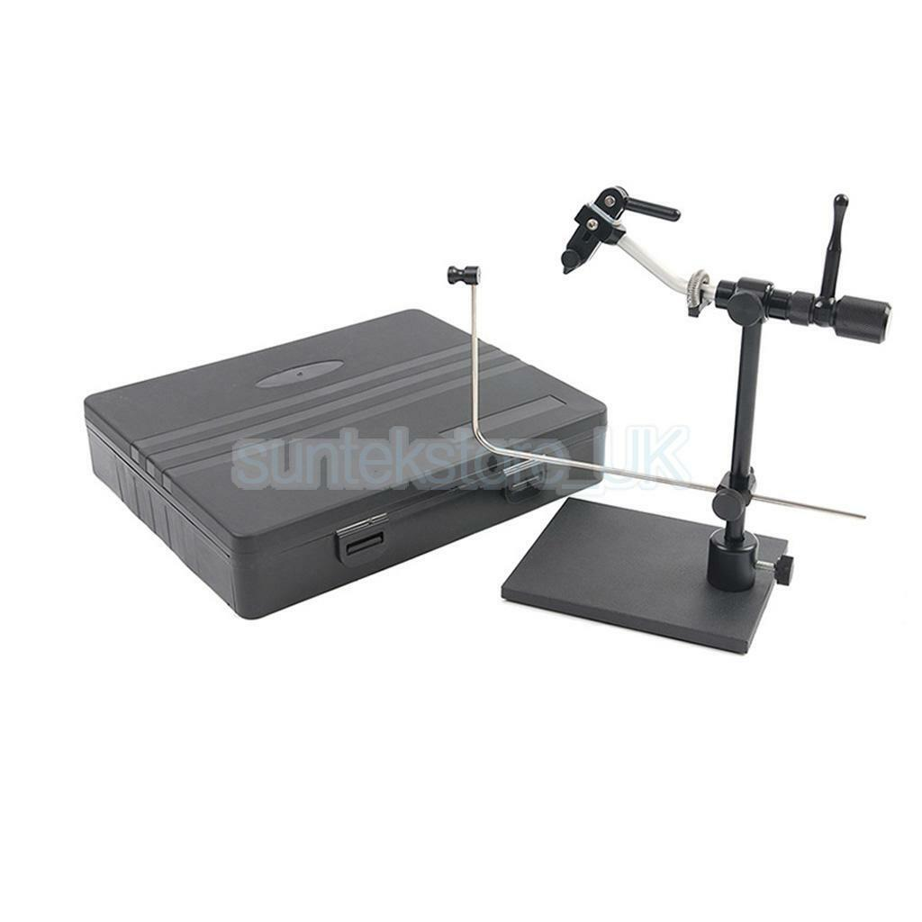 Rotatable Fly Fishing Fly Tying Vise Fly Hook Tool for Flies Making DIY