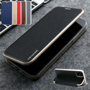 Luxury Leather Wallet Card Slim Case Magnetic Flip Cover For iPhone 12 11 X 8 6