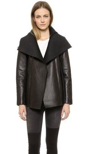 VEDA Commune Leather Coat - Size L - $990