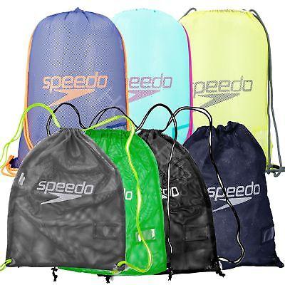 Sdo Drawstring Mesh Equipment Swimwear Pool Bag Swimming Gym New Ebay