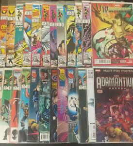 Large-20-Wolverine-Comic-Book-Set-Issue-Great-Lot-X-Men-Marvel-Comics-BBX7