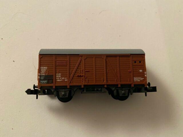 Minitrix 3534 – Epoche IV – gedeckter Güterwagen – wie neu