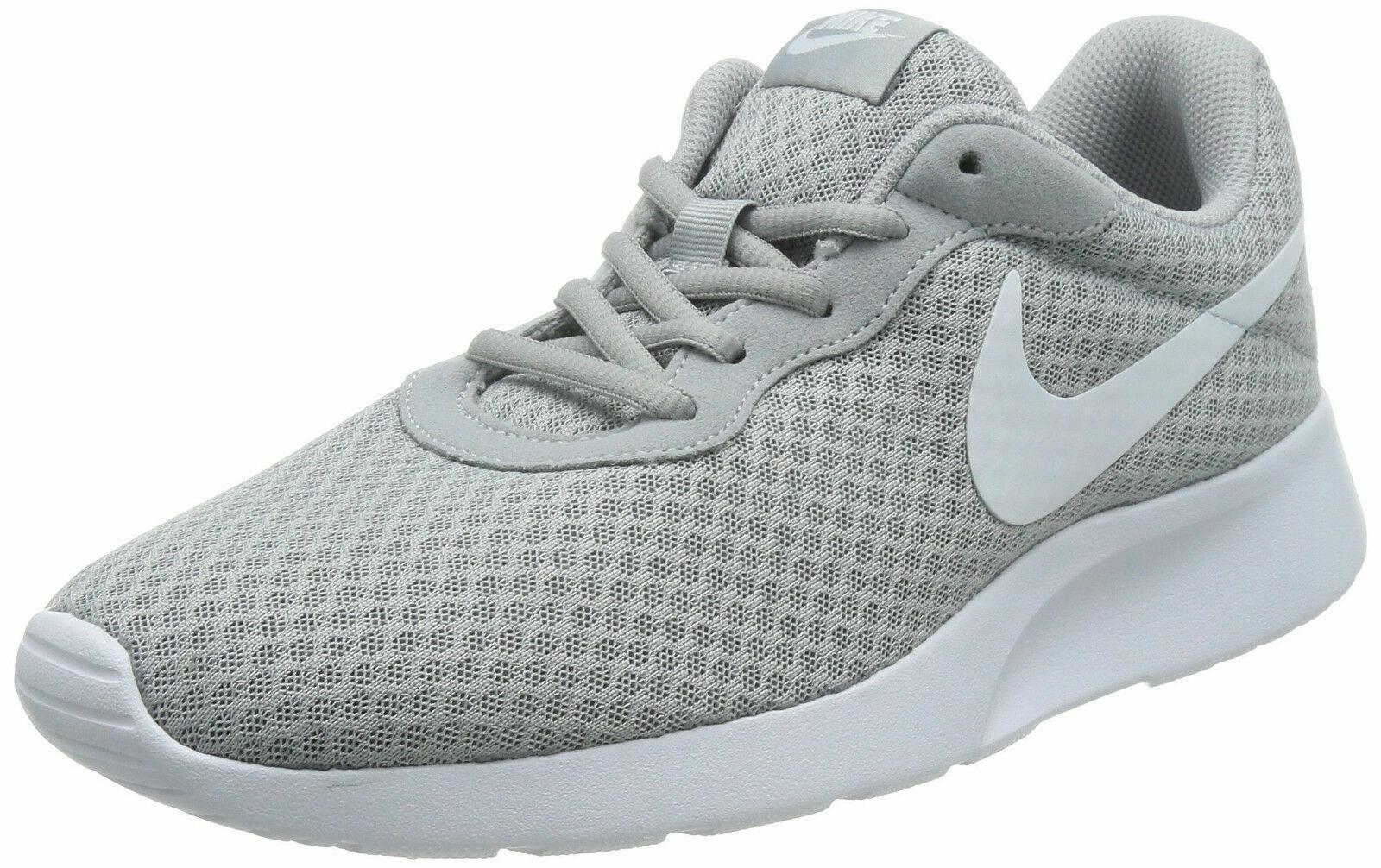 Nike Tanjun Men's Running Training shoes Wolf Grey White 812654 010  KH