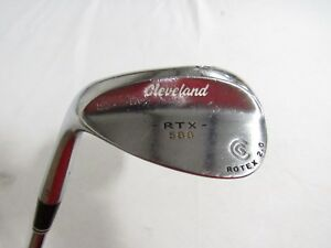 Used-LH-Cleveland-588-RTX-2-0-56-Wedge-56-12-Dynamic-Gold-Wedge-flex-Steel-LH
