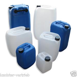 kanister camping outdoor beh lter box blau wei 5 10 20 25 30 60 liter ebay. Black Bedroom Furniture Sets. Home Design Ideas