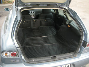 Car boot liner suitable 5 door Alfa Romeo 156 crosswagon 2004-2007 boot cover