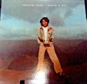 GRAHAM-NASH-Earth-amp-Sky-Album-Released-1980-Vinyl-Record-Collection-US-pressed