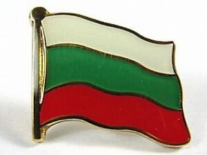 Bulgarien-Flaggen-Pin-Anstecker-1-5cm-Bulgaria-Neu-mit-Druckverschluss