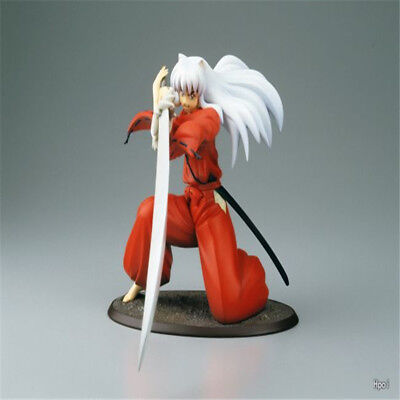 Japanese Anime 19CM Inuyasha iron broken tooth Kids Action Figure Toys In Box
