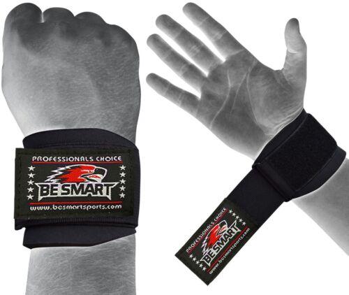 Weight Lifting Wrist Wraps Bandage Hand Support Brace Gym Strap Neoprene M