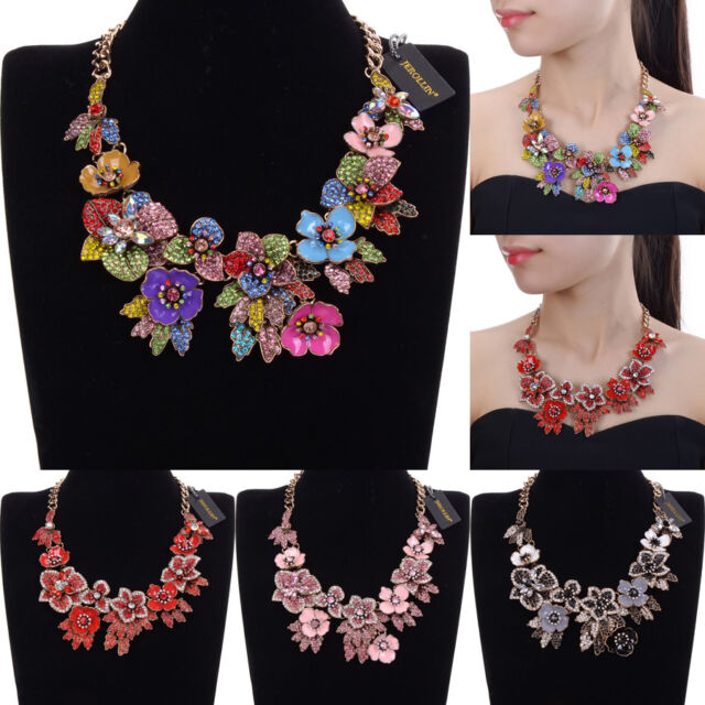 New Statement Necklace Chain Collar Vintage Party Choker Fashion
