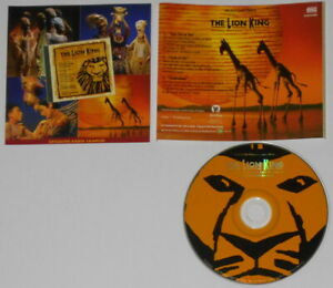 Elton-John-Hans-Zimmer-The-Lion-King-Broadway-Besetzung-EP-U-S-Promo-CD