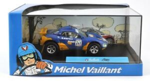 Metal-maqueta-de-coche-1-43-Michel-Vaillant-Comic-Collection-Vaillante-cairo-vitrina