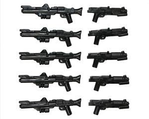 Lego-Star-Wars-Waffen-dc-15-dc-15s-Blaster-Gewehr-Clone-Trooper-Waffe-10-Pack