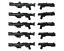 Lego-Star-Wars-Waffen-dc-15-dc-15s-Blaster-Gewehr-Clone-Trooper-Waffe-10-Pack Indexbild 1