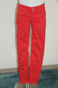 Bonito Pantalones Jeans Rojo Mujer Tommy Hilfiger Denim Talla W25 L32 Ebay