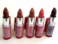 Maybelline - Moisture Extreme Lipstick - Lot Of 5 - Rare Colors - 38