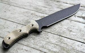 Bombproof Swamp Rat Ratweiler Legendary Bowie Survival Knife SR101, Micarta, New