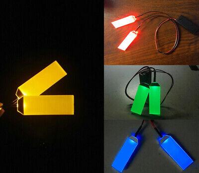 DIY GREEN LED LIGHT EYES FOR 1:1 IRONMAN// BATMAN//BLACK PANTHER HELMET MASK DECOR
