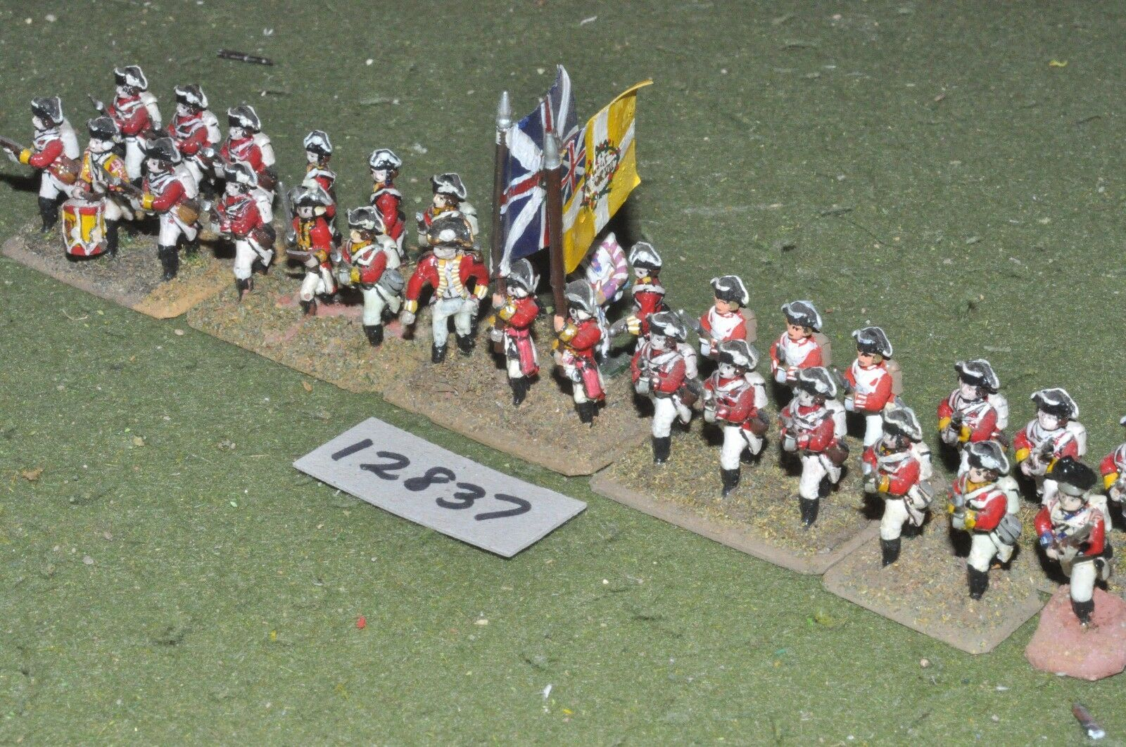 25mm AWI   british -  infantry 30 figs - inf (12837)