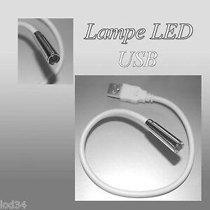 Lampe Led Usb Lecture Liseuse Flexible Livre Led Ebay
