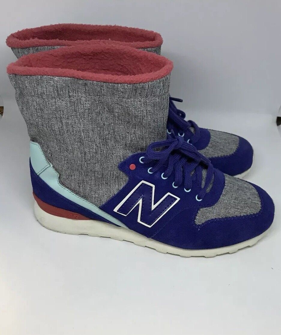 New Balance 996 (Women 7 )bluee Pink Grey White Classic Hipster Sneaker WH996BXB
