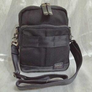 Yoshida bag PORTER Heat shoulder bag made in japan 703-06977 Black ... ba074b76c7123