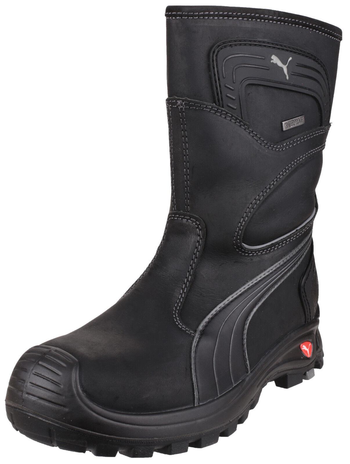 Puma Rigger Stivali Di Composita Sicurezza Da Uomo Punta Composita Di Scarpe Lavoro Industriale Footwear 64caab