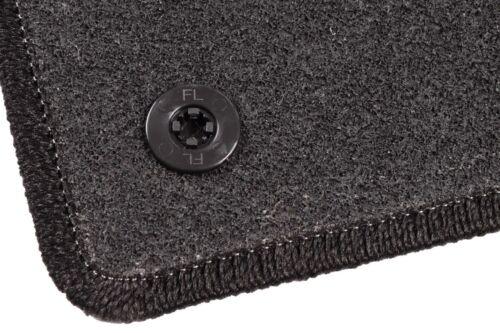 Fiat Punto Evo année de construction 2008-2012 Graphite//anthracite Textile Tapis de sol