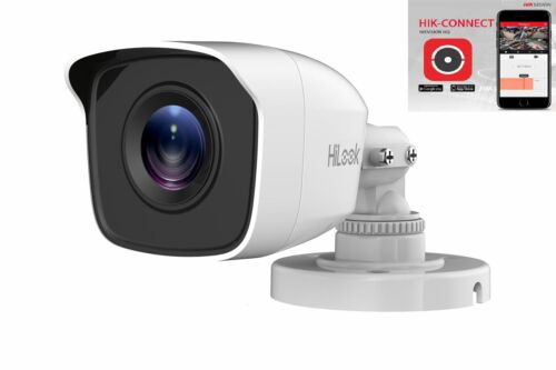 HiLook by Hikvision THC-B120-MC 2mp HD 20m EXIR Bullet 4-in-1 Camera IP66– White