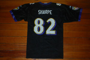 0a70d6ba4d3 Reebok #82 Shannon Sharpe Baltimore Ravens Black NFL Jersey (Youth ...