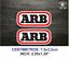 ARB-4X4-VINILO-PEGATINA-VINYL-STICKER-DECAL-AUFKLEBER-AUTOCOLLANT