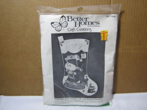 Vintage Better Homes and Gardens Rock A Bye Santa Sealed in Original Package!