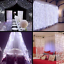Remote-3x3M-300LEDs-Light-Icicle-Curtain-String-Fairy-Lights-Xmas-Wedding-Party miniature 6