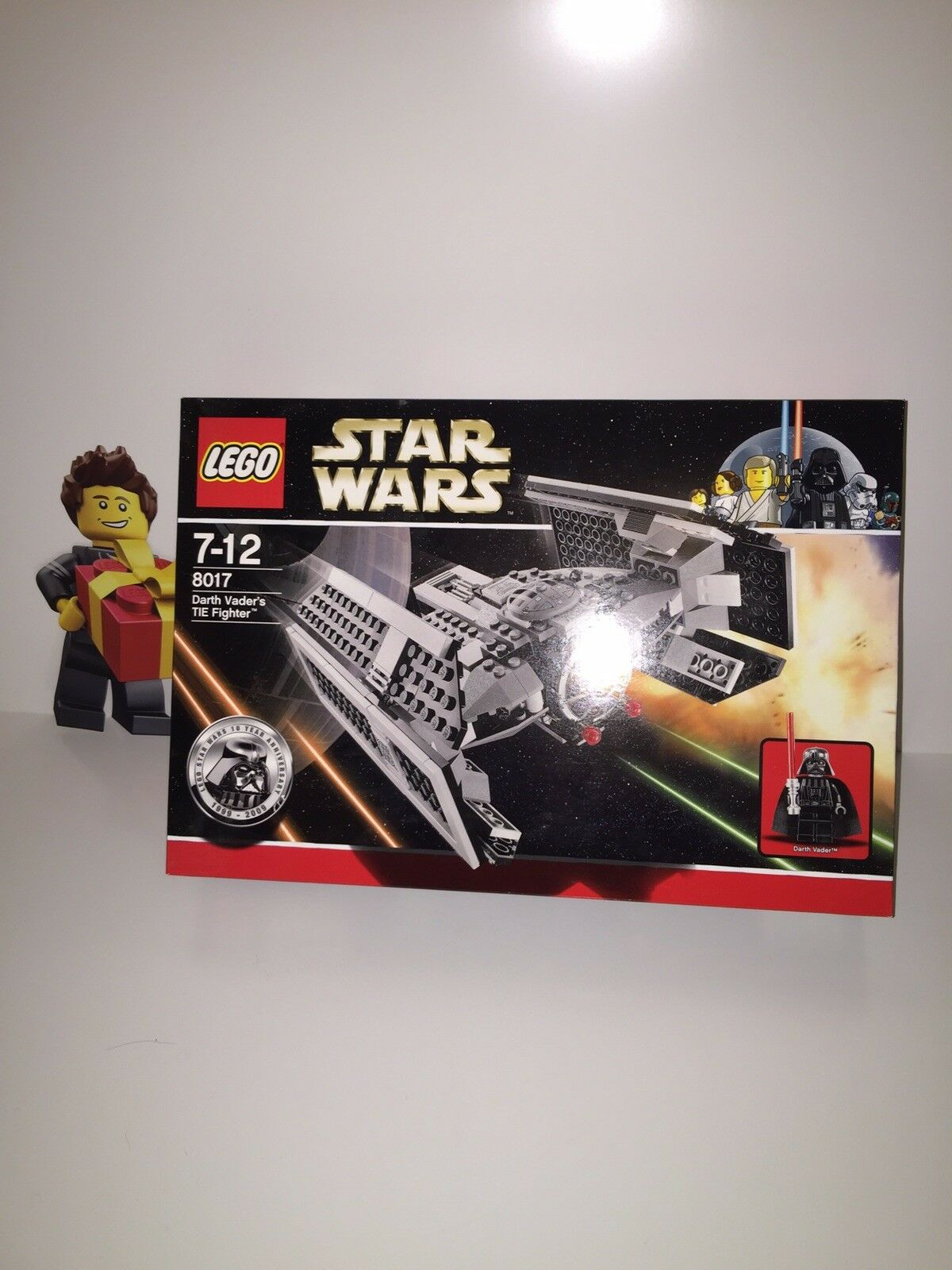 New LEGO Star Wars 8017 Darth Vader's TIE TIE TIE Fighter 10th Anniversary Rare Unopened ed26a3