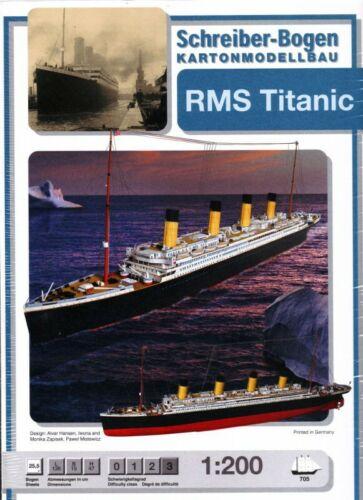 Schreiber-Bogen Kartonmodellbau Titanic