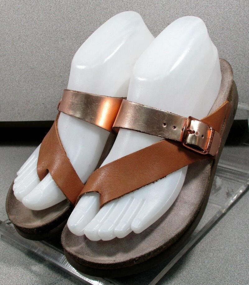 Helen TAN ROSE lmpfsa 50 Chaussures Femmes Taille 7 EUR 37 Sandales en cuir MEPHISTO