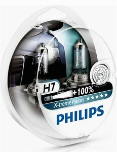 2-AMPOULES-H7-PHILIPS-X-TREME-VISION-BMW-SERIE-5-E39-100-12V-55W