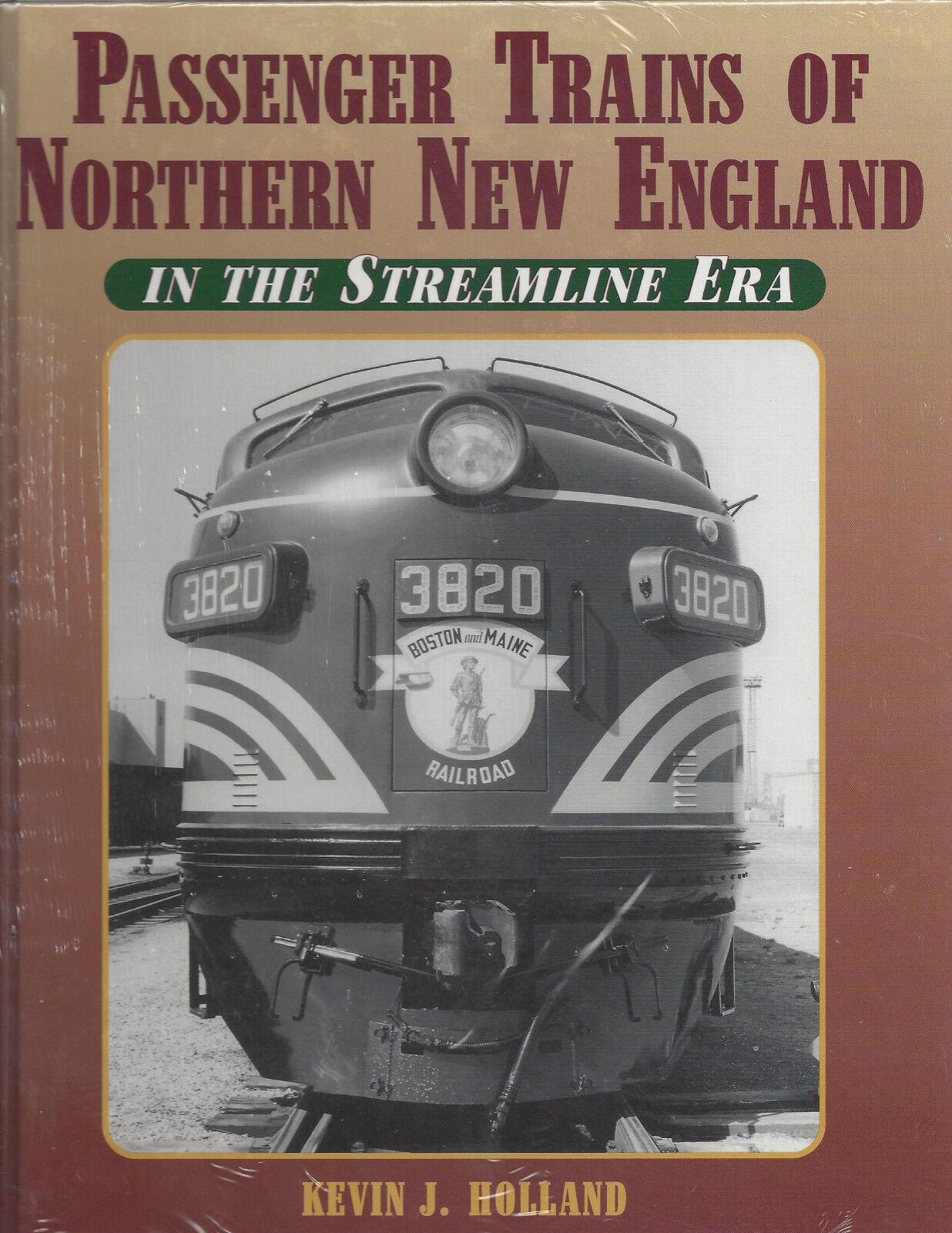 Passeggeri Treni di Nord Nuovo England Nel Streamline Era, 1936-1966  Nuovo