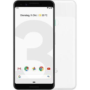 Google-Pixel-3-64GB-Smartphone-Neu-vom-Haendler-OHNE-SIMLOCK-Weiss
