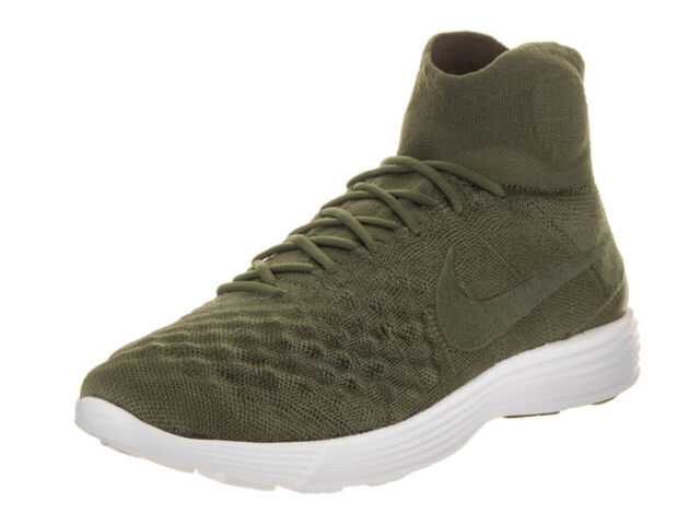 180b1e78beded Nike Lunar Magista II FK Mens 852614-300 Cargo Khaki Flyknit Shoes ...