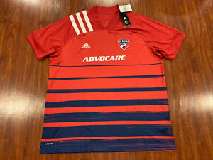 Details about 2020-21 Adidas Men's FC Dallas Home Soccer Jersey XXL 2XL MLS US