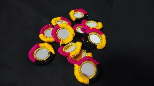 Lot of 10 Tribal Belly Dance Mirror Medallions